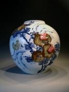 Artist :  Jaar   : 2012 Afm.  : 35 cm hoog - diameter 31 cm.