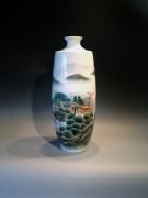 Artist : Han Pinghui Jaar   : 2013 Afm.  : 49 cm hoog - diameter 20 cm