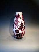 <p>Reliëfglaskunst vazen door Deng Zhendong</p>