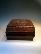 Doos oud - gerestaureerd Afm. : 31 cm x 31 cm x 20 cm hoog Prijs  : € 155,00